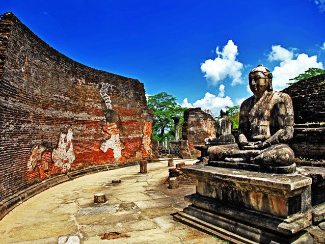 ON THE BUDDHIST TRAIL IN SRI LANKA