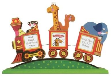 Circus Train Picture Frame