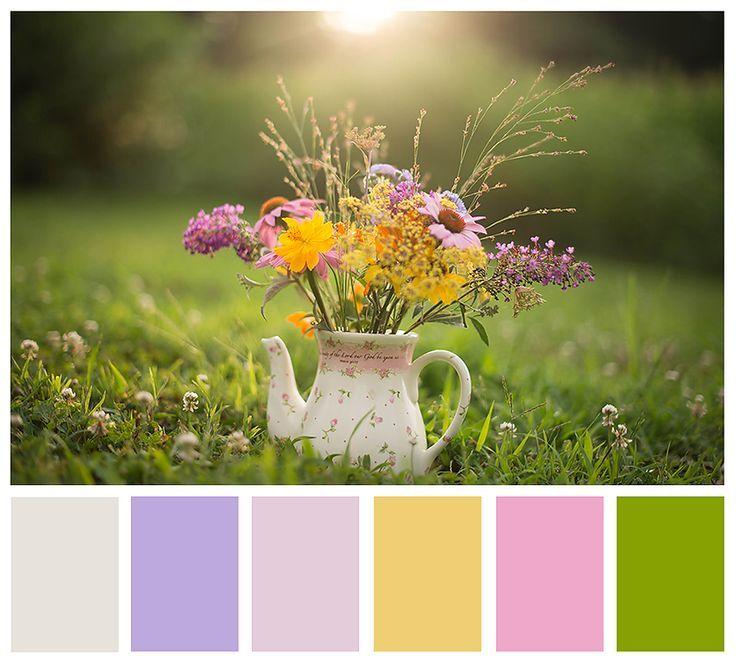 märchenhafte Farbpalette. Perfekt für ein kleines Mädchen Zimmer, Branding Farbe …