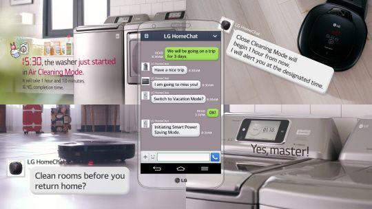 [CES 2014]LG, 카카오톡과 하반기 스마트홈 서비스 개시