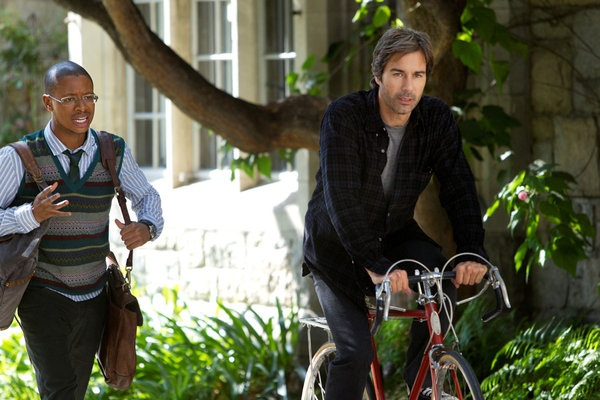 Arjay Smith and Eric McCormack in Perception