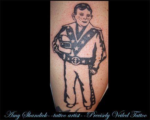 www.facebook.com/preciselyveiledtattoos #todd #tattoo #tattoos #tattooideas #black #evelkknivel #mad