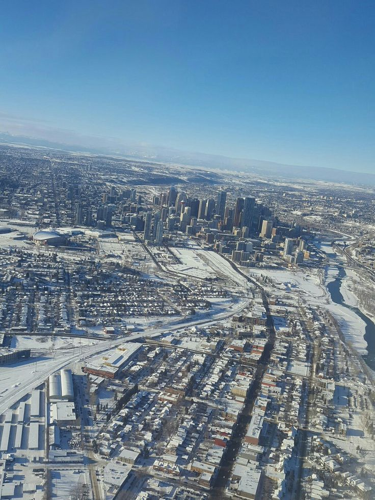 My husband snapped this pic of our beautiful city, Calgary