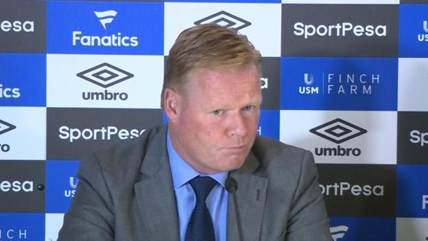 Everton manager Ronald Koeman says Wayne Rooney was 'desperate' to return to the club. Source link...