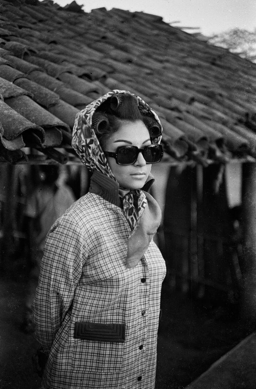 """ Sharmila Tagore in Aranyer Din Ratri, 1969 """