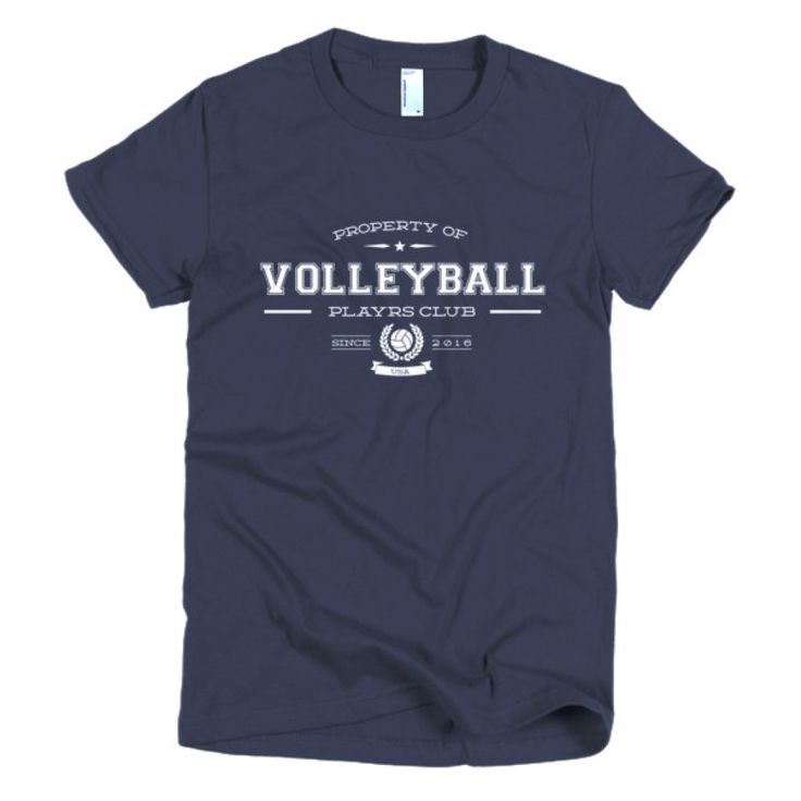 PLAYRS Club Women's VolleyBall T-Shirt – Light