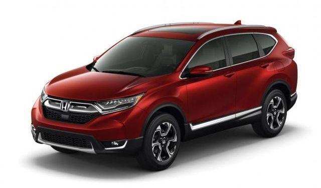 Honda CRV 2018 redesign
