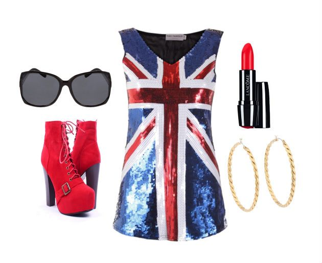 DIY Spice Girls costume - Ginger Spice