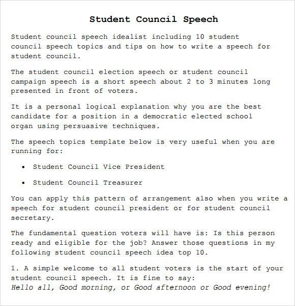 Amp Pinterest In Action Student Council Speech Example Topics Essay Ideas Idea