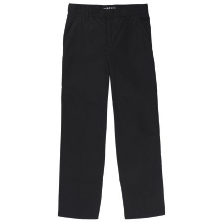 French Toast Boys Relaxed Fit Twill Pant, Size: 20H, Black
