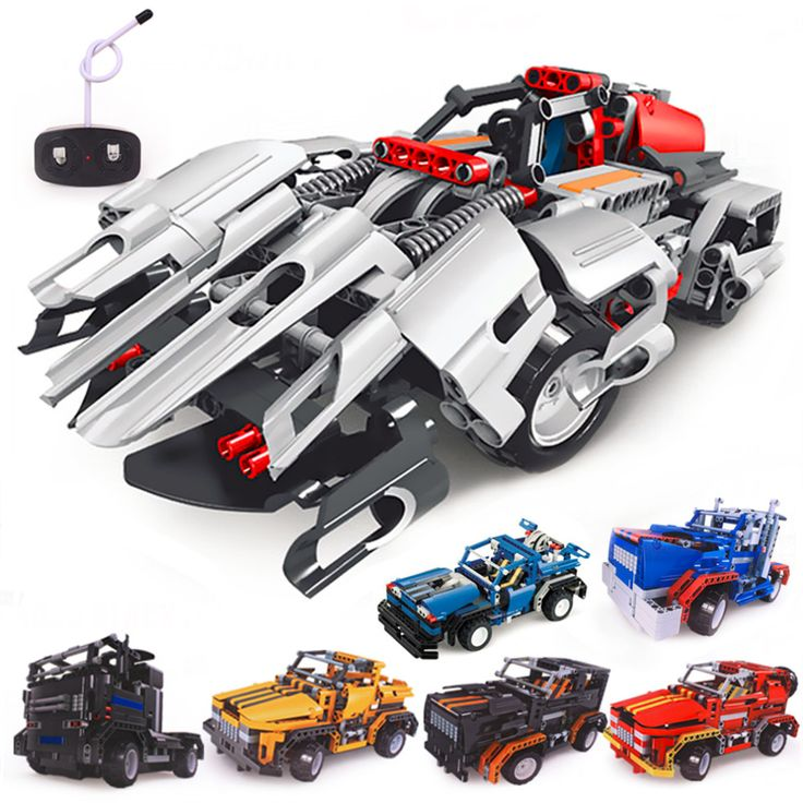 building blocks electrical remote control cars kids children educational toy hot selling aliexpress