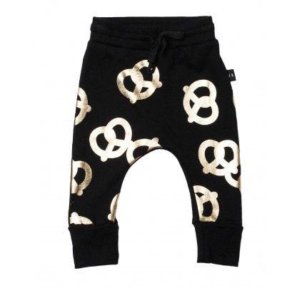 Huxbaby's Pretzel Drop Crotch Pants
