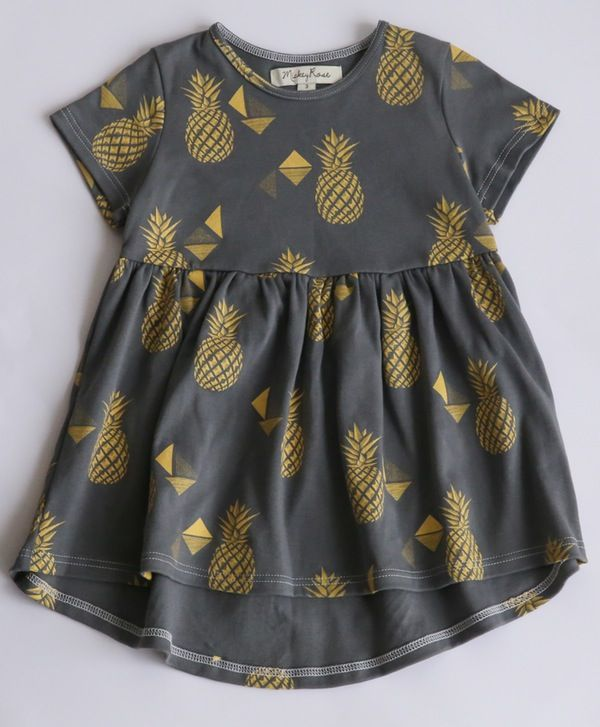 Pineapple Dress. $49.95. Organic Cotton, Unisex, Ethical & 100% made in Melbourne with love.