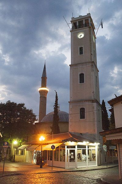 Clock Tower and Yeni Mosque - Komotini, Greece