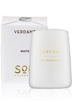 SOH Melbourne Verdant White Scented Candle