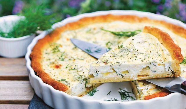 Kôprový quiche s kozím syrom: Obed pre každého poriadneho Slováčiska