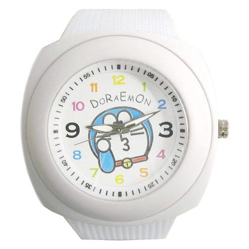 udn買東西 - 哆啦A夢大款嘟嘟臉可愛錶-白色