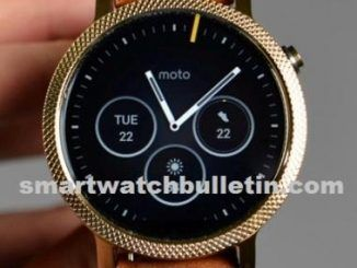 Moto 360 2nd Generation Bands And Specs