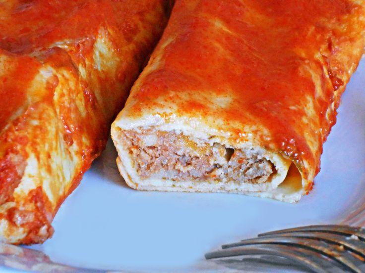 Cannelloni di Crêpes con la Carne