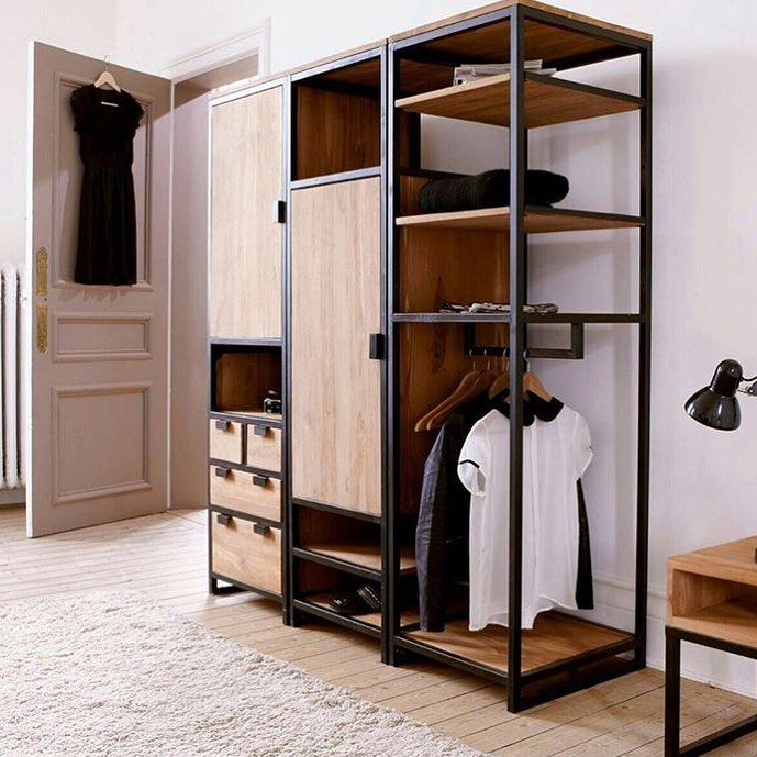 63 best herrajes puertas correderas rusticos images on for Closet rusticos