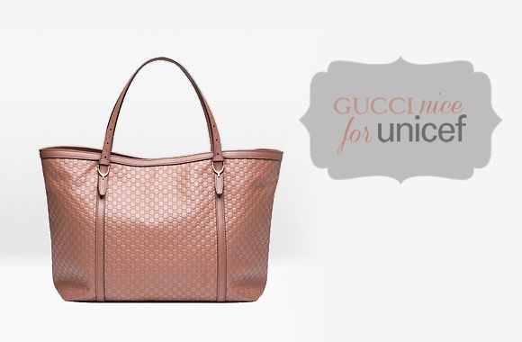 "Fashion: Nice by ""Gucci for UNICEF"""