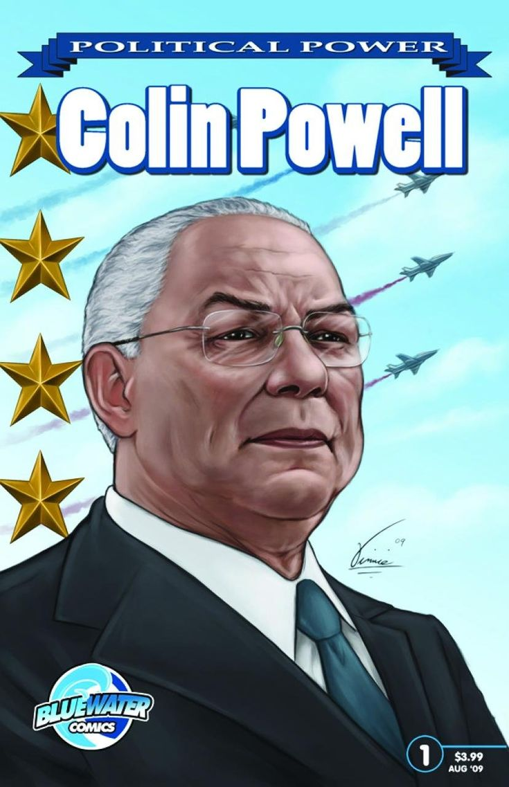 Political Power: Colin Powell (Political Power (Bluewater Comics)) Price:$3.99