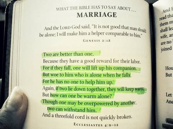 Marriage Quotes From the Bible | What the Bible says about Marriage