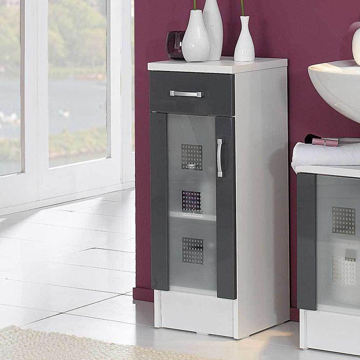 Die besten 25+ Badezimmer unterschrank grau Ideen auf Pinterest - badezimmer kommode holz