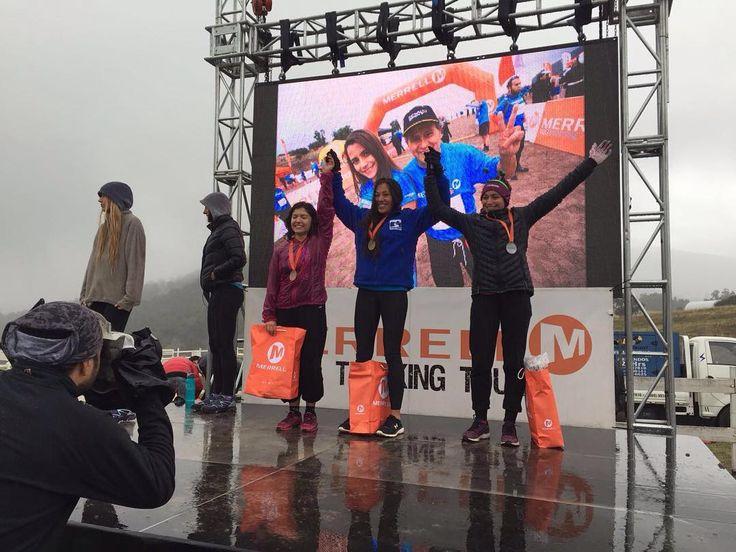Felicitamos a nuestras socias Andrea López y Loreto Pérez quienes lograron el segundo y tercer lugar en sus categorías en 21k de Merrel Trekking Tour