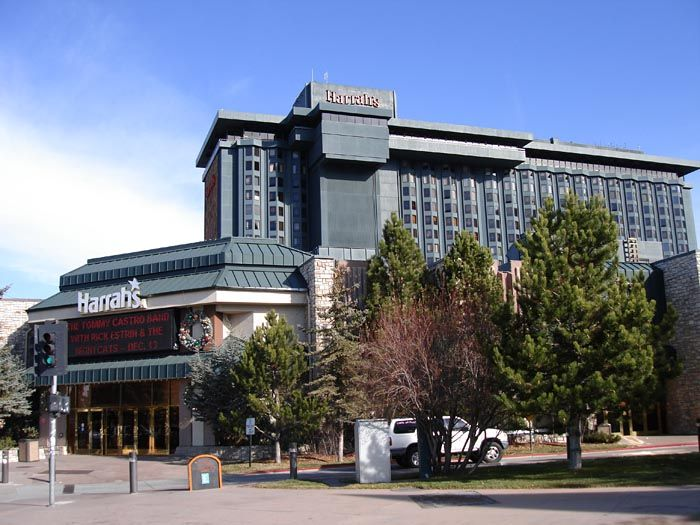 Harrahs casino in South Lake Tahoe at the Heavenly Village