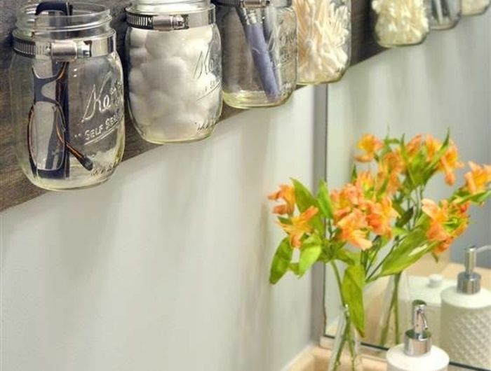 Badezimmer organizer ~ Badezimmer organizer bilder diy schichten kunststoff