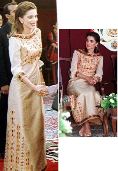 Queen Rania's Eveningwear Part 1: December 2003 - March 2007 - The Royal Forums