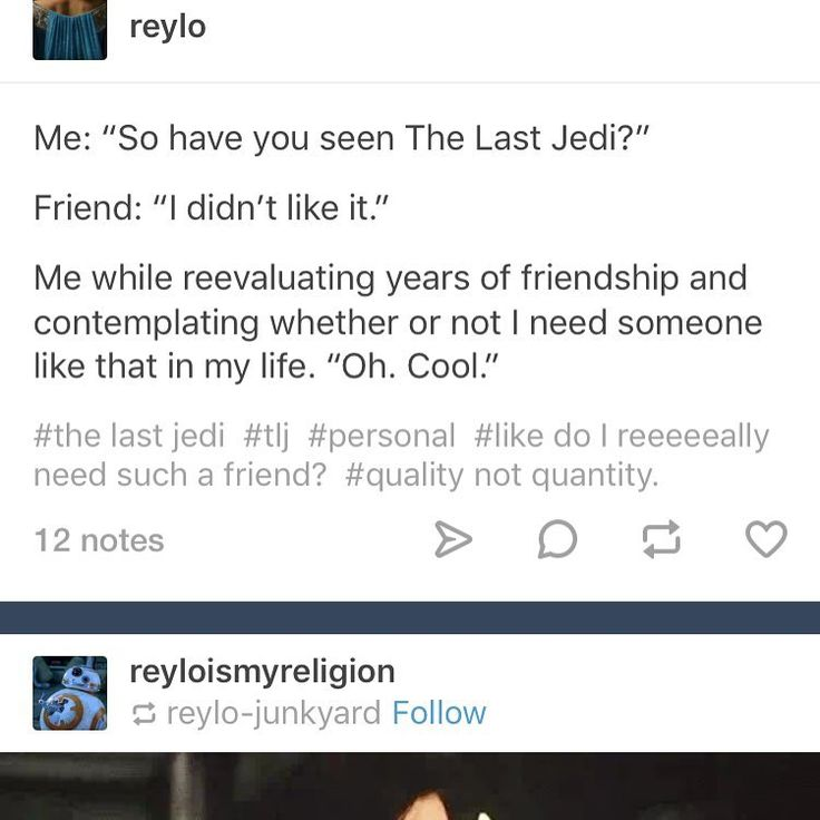 """249 Likes, 4 Comments - In A Galaxy Far Far Away... (@reylo_forever__) on Instagram: """"You don't need that type of negativity in your life #reylo #reyloforeverandeverandcanon…"""""""