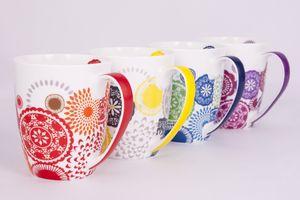 Ashdene Kaleidoscope Mug Collection Set of 4 - Aura Gift Box