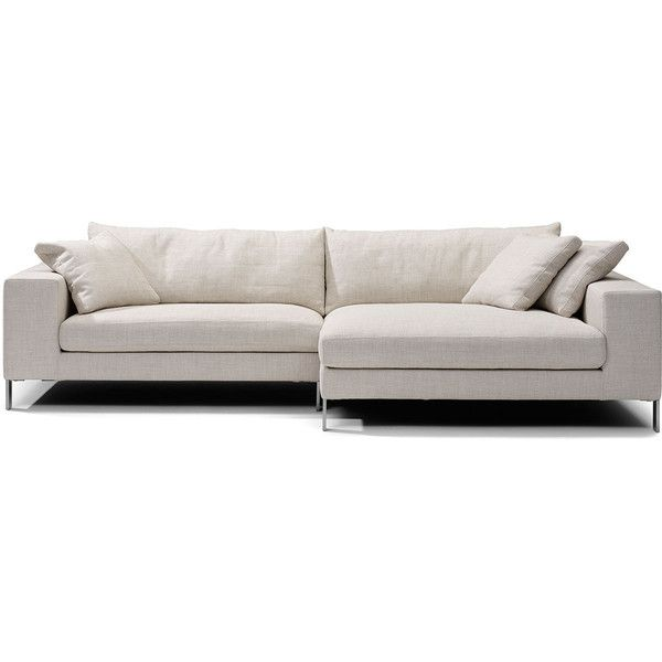 Linteloo Plaza Small Sectional Sofa ($10,379) ❤ liked on Polyvore featuring home, furniture, sofas, square couch and island furniture