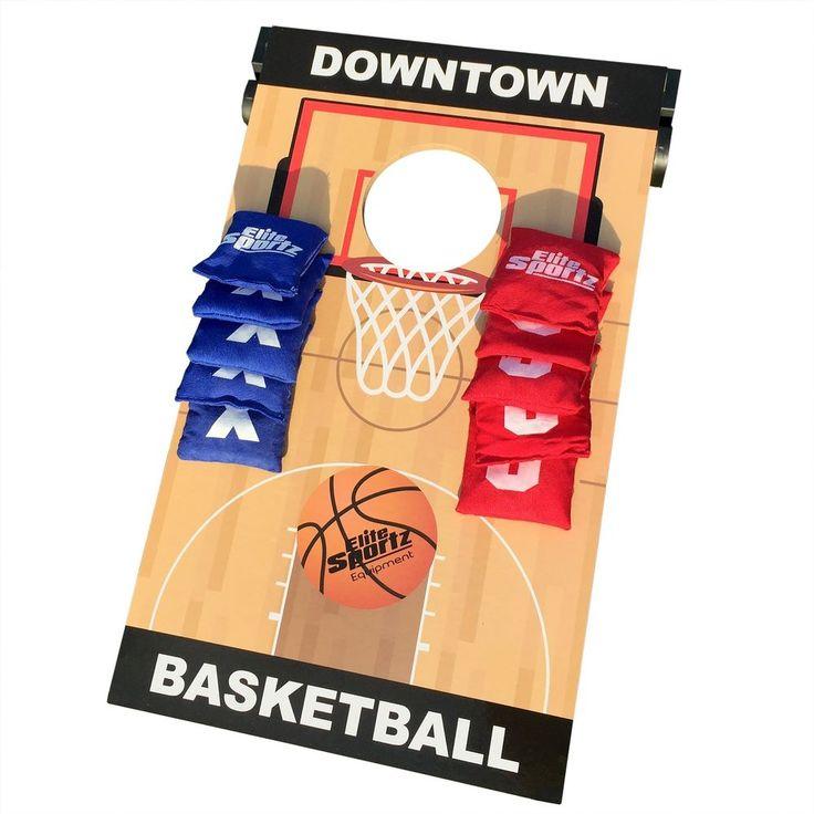 2 Games 1 Board Party Games For Kids Juniors Football Bean Bag Toss Tic Tac Toe #Elitesportzequipment