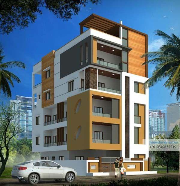 Multi Story Apartment Exterior Design 2019 Ideas