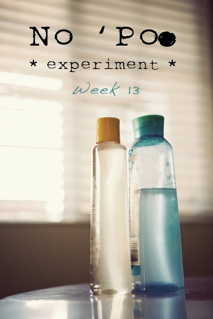 No shampoo, hair wash  Scroll to week 4 for hard water recipe
