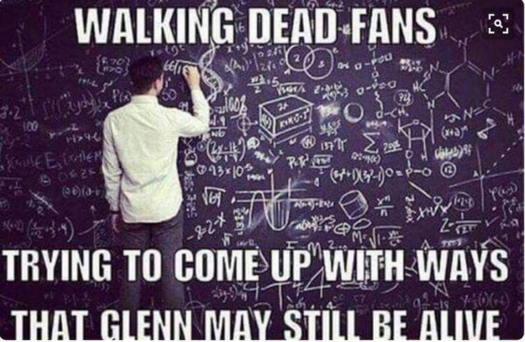 The Walking Dead  #Glenn #TheAtlanta5MustSurvive #TWD