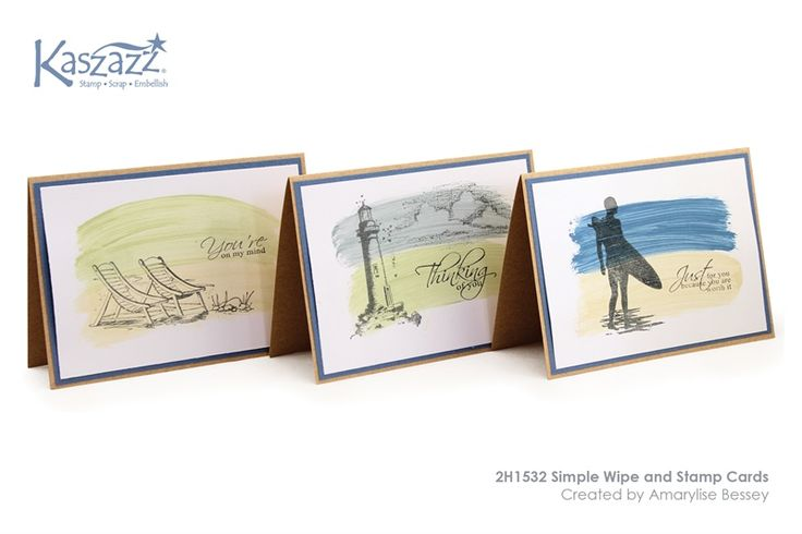 2H1532 Simple Wipe and Stamp Cards