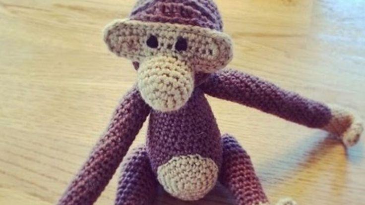 Opskrift: Hæklet abe | GO'
