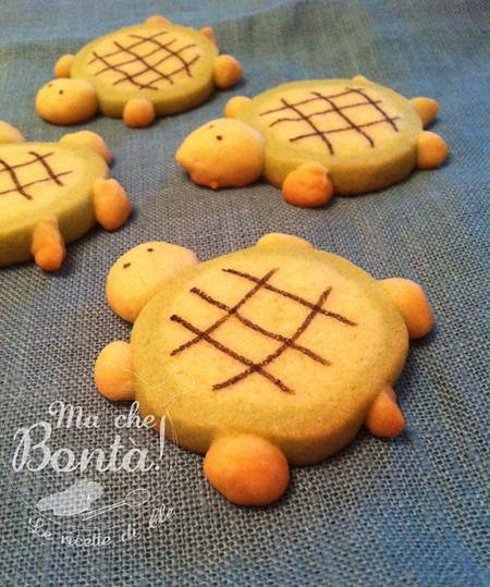 Biscotti tartaruga. #ricetta di @wondercle