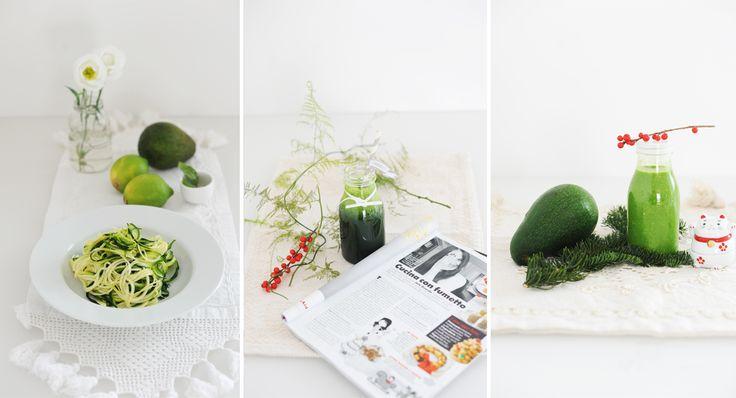 Mangiare S(tr)ano: Le foglie verdi vanno assunte crude. Amen.   Gikitchen: in Cucina con Grazia Giulia Guardo e Maghetta Streghetta