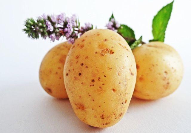 Mască de Față din Cartof