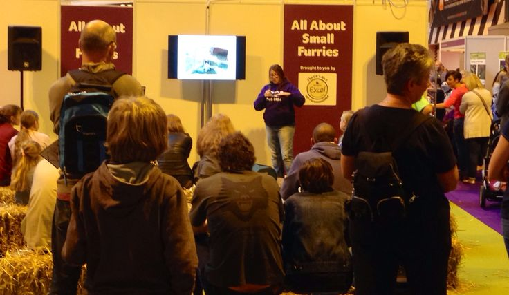 The talks by RWAF and  WoodGreen were very well attended at the national pet show 2014