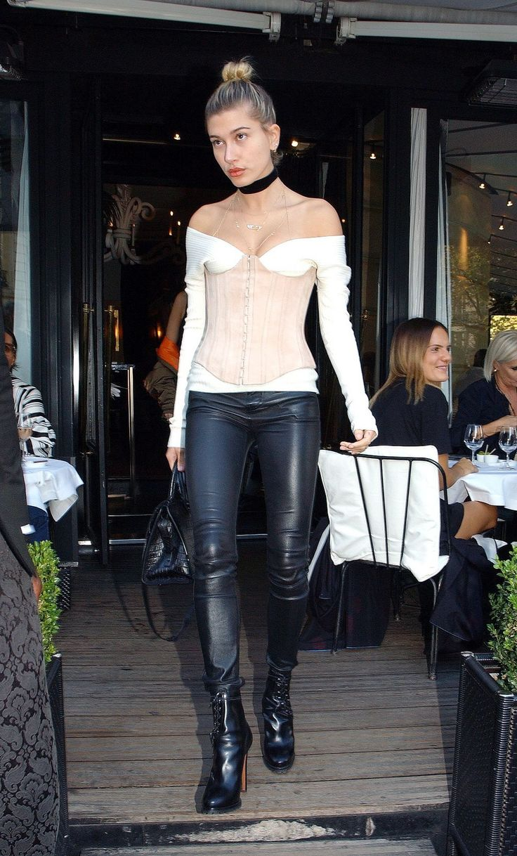 HAILY BALDWIN Out and About in Paris   actress HAILY BALDWIN