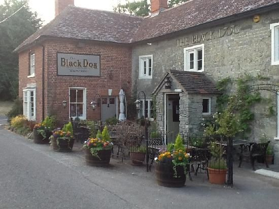 The Black Dog Inn in Chilmark, England