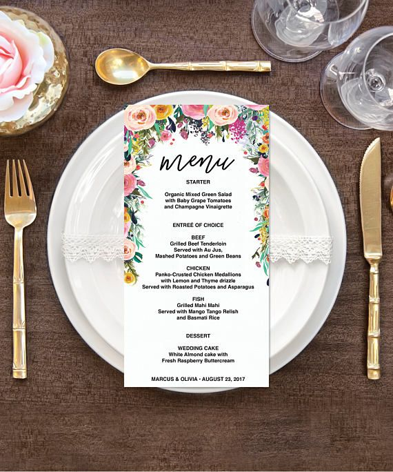 Diy Wedding Food Menu Ideas: Best 25+ Rustic Wedding Menu Ideas On Pinterest