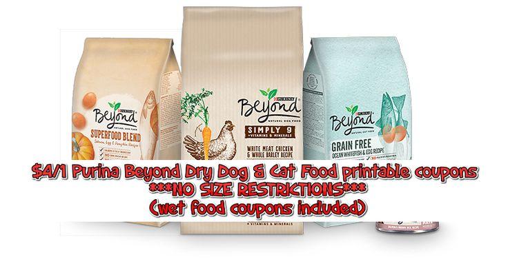 Pet Food Coupons - BOGO Purina Pro Plan & More - FTM