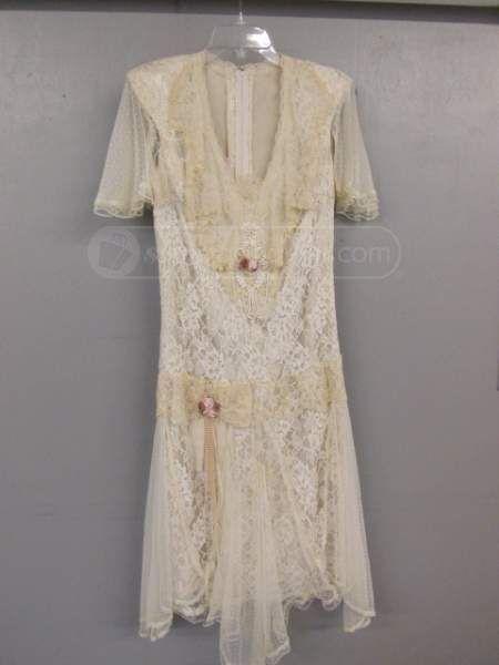 shopgoodwill.com: Susan Lame's Elegance Vintage Style Dress (Sz10)